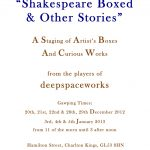 Shakespeare Boxed poster