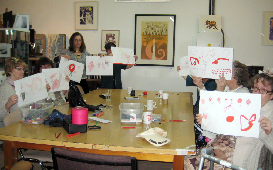 Red Nose Day Drawings
