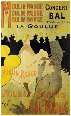 Toulouse-Lautrec Moulin Rouge - La Goulue