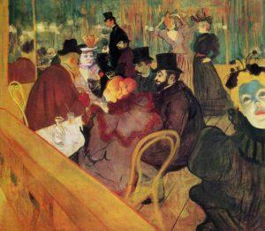 Toulouse-Lautrec - Au Moulin Rouge