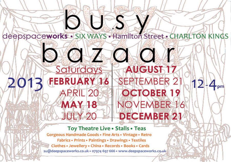Busy Bazaar 2013 dates