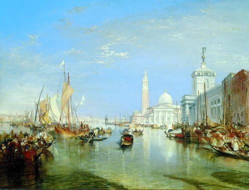 Venice: The Dogana (Customs Office) and San Giorgio Maggiore