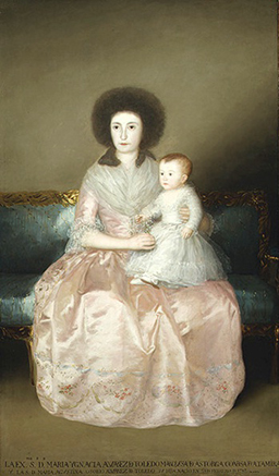 Countess of Altamira and her Daughter