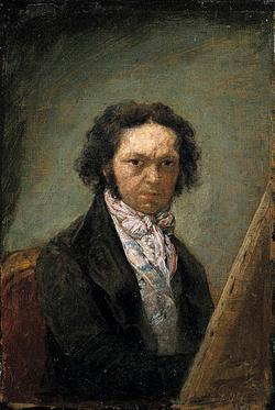 Francisco Goya Self Portrait 1795