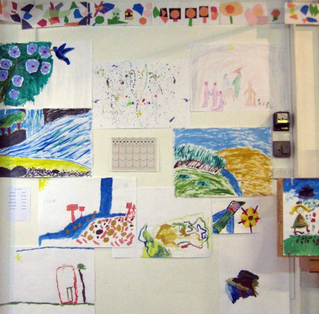 Painting at ACKC