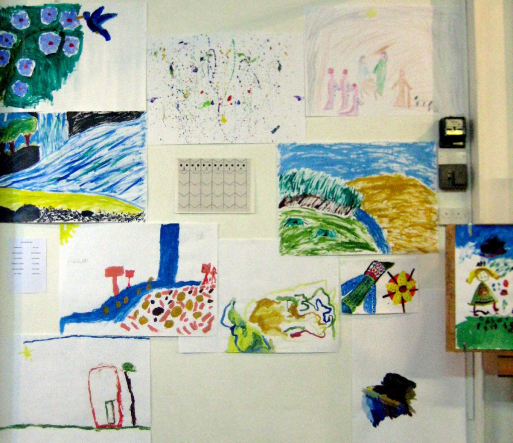 Arty Crafty Kids Club Exhibition