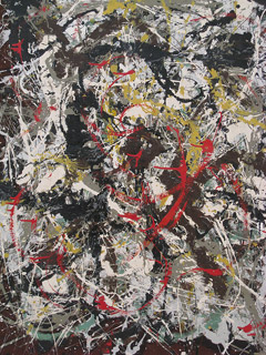 the life and works of the american artist jackson pollock Pollock biographers steven naifeh and gregory white smith state in jackson pollock: an american saga that kligman, as a child, had fantasized about becoming a great artist—and, just as.