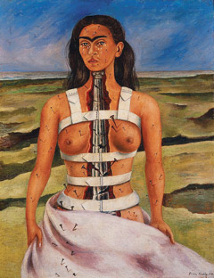 The Broken Column, Frida Kahlo, 1944