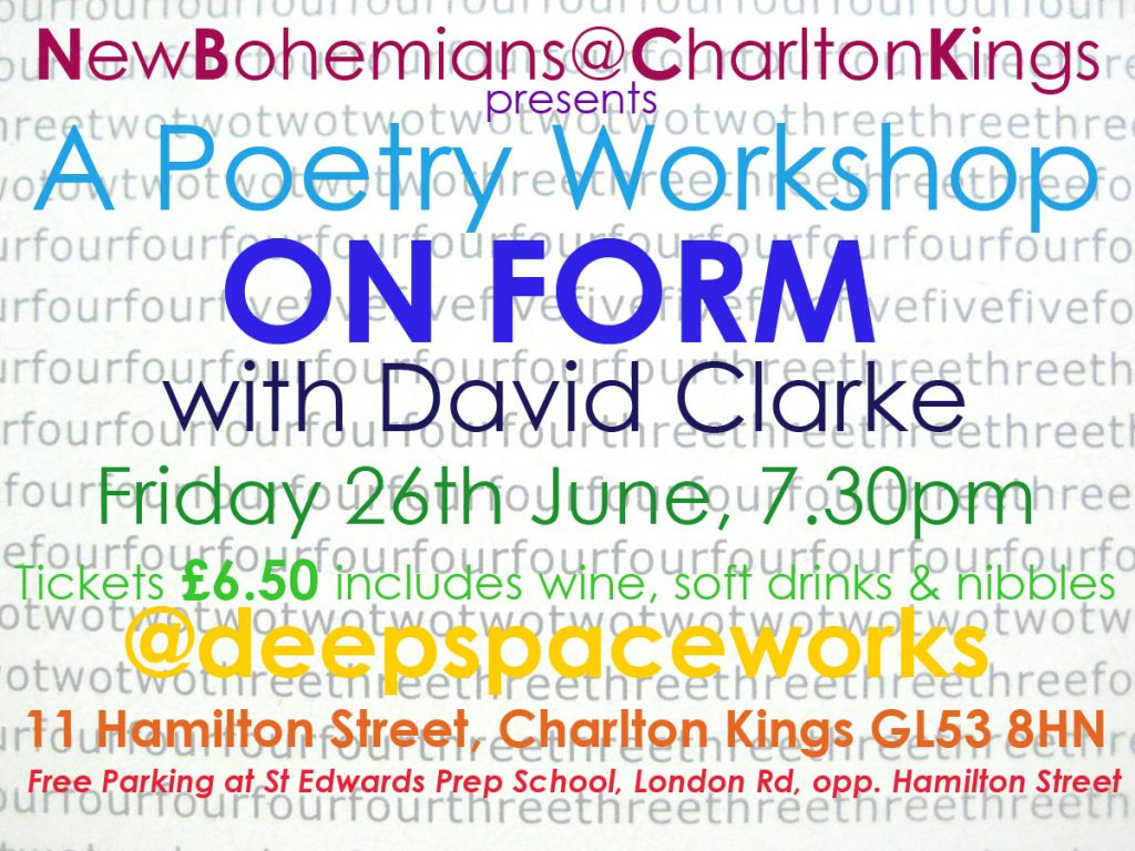 ON FORM poetry evening
