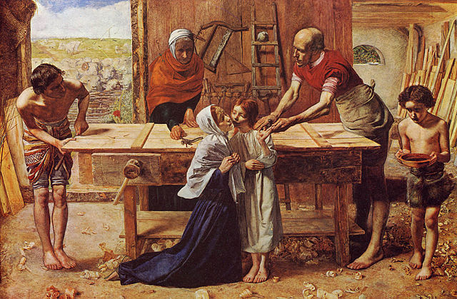 Christ in the House of his Parents (1850)