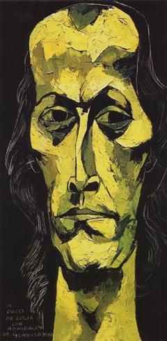 Paco de Lucia by Oswaldo Guayasamin
