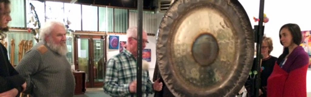 Gerry Russell gong meditation