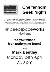 Geek Night April17