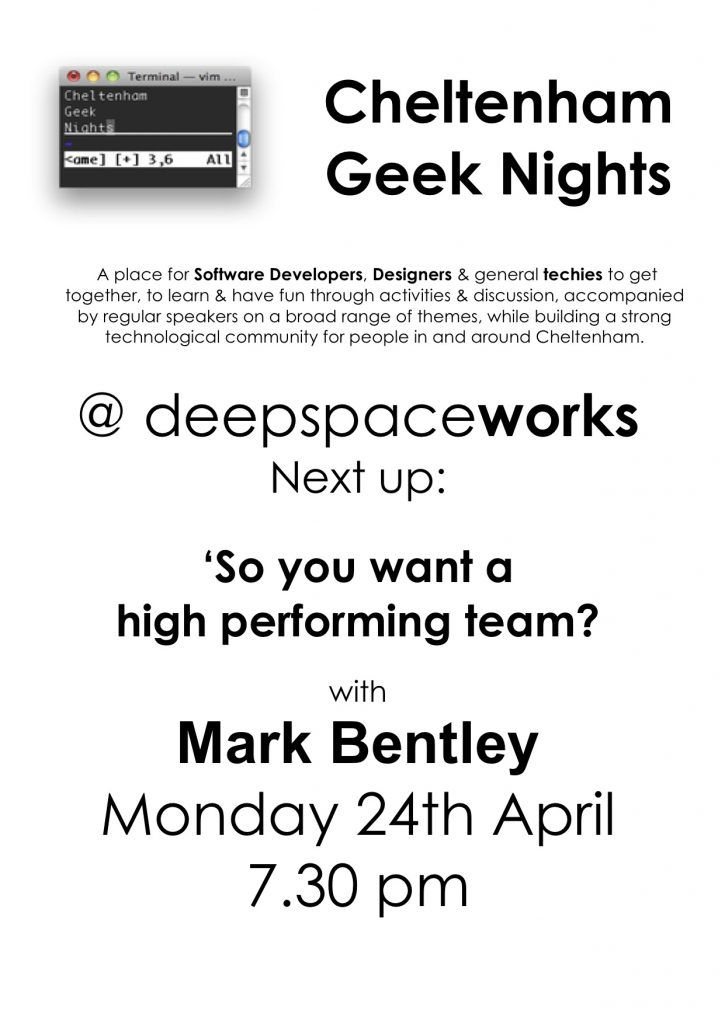 Geek Night April17